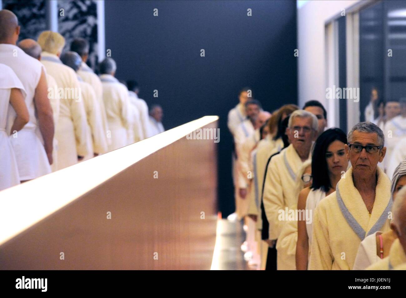 HEALTH SPA GUESTS YOUTH (2015) - Stock Image