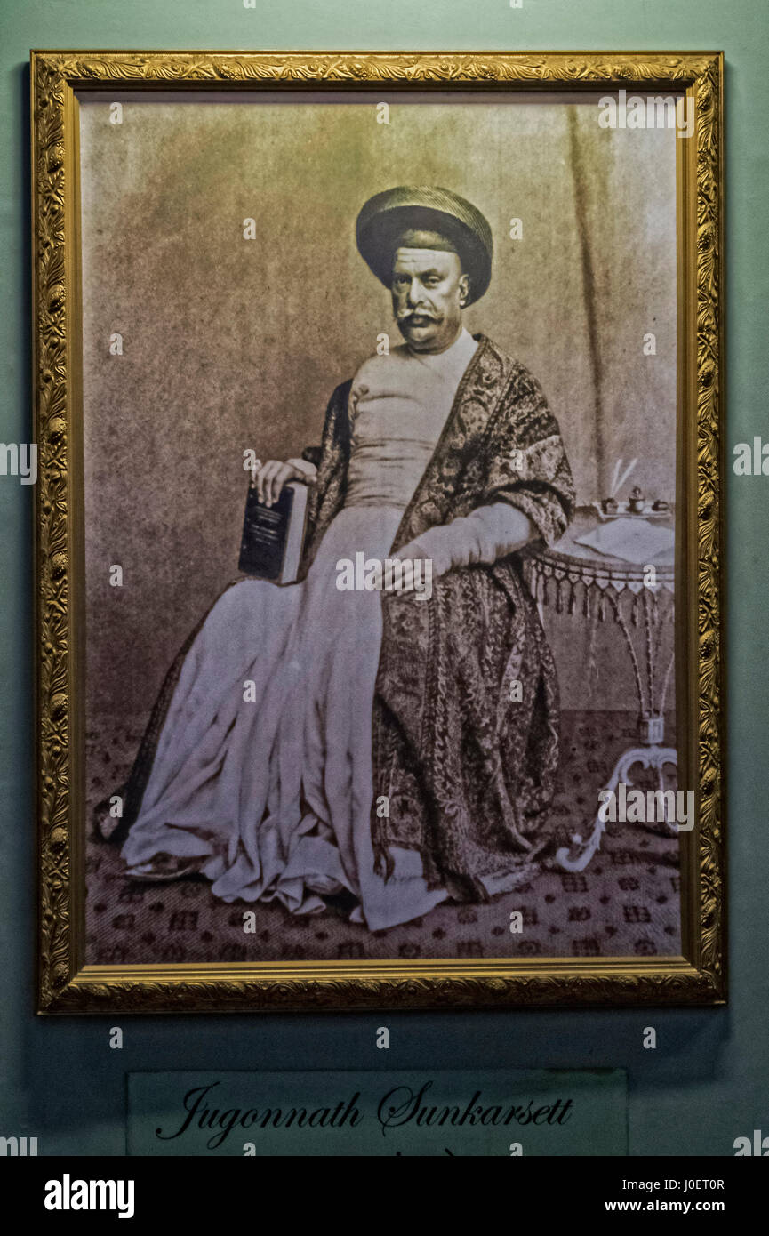 Frame of jugannath sunkarseth, bhau daji lad museum, mumbai, maharashtra, india, asia - Stock Image