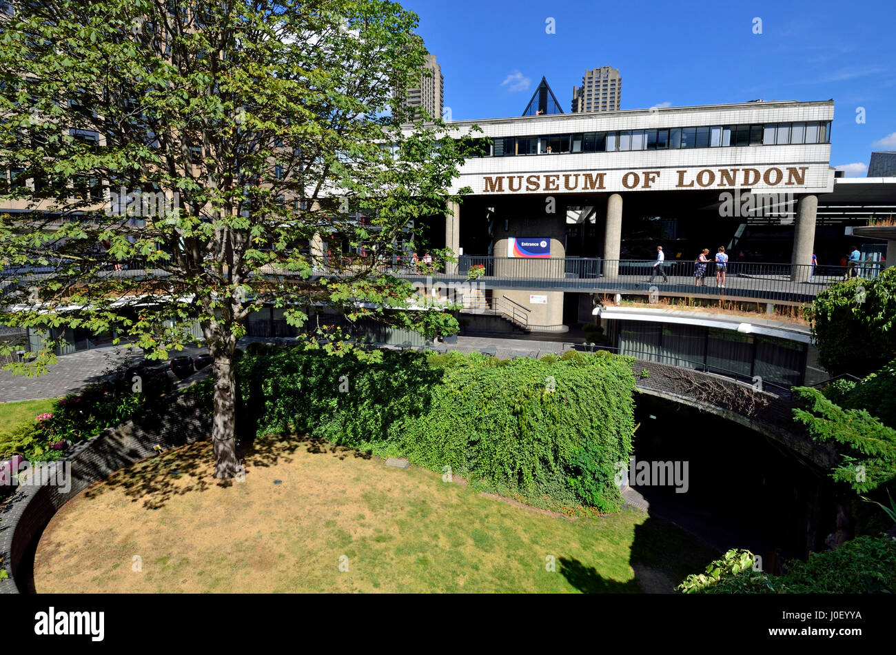 London, England, UK. Museum of London, London Wall, Barbican - Stock Image