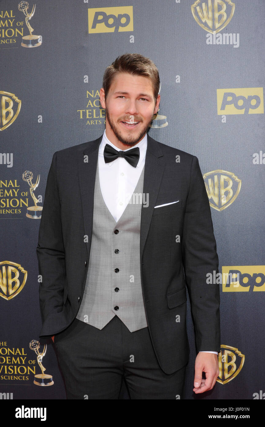 Scott Clifton attends the 42nd annual Daytime Emmy Awards at Warner Bros. Studios on April 26th, 2015 in Burbank, - Stock Image