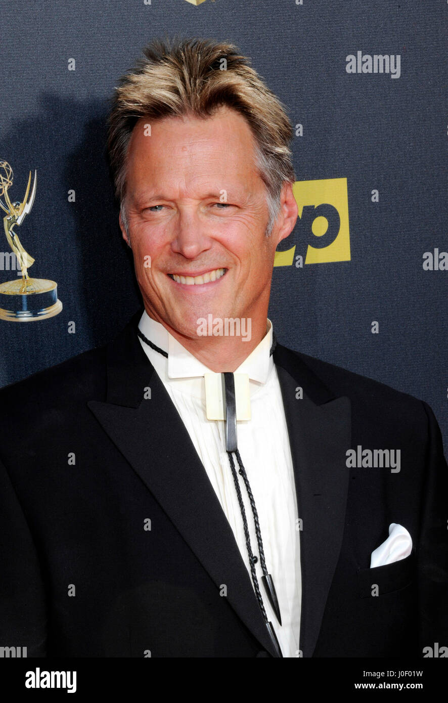 Matthew Ashford attends the 42nd annual Daytime Emmy Awards at Warner Bros. Studios on April 26th, 2015 in Burbank, - Stock Image