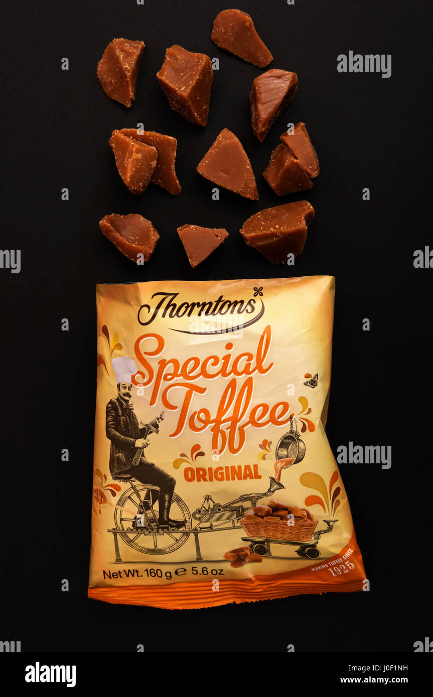 Thorntons Special Toffee Stock Photo 138013613 Alamy