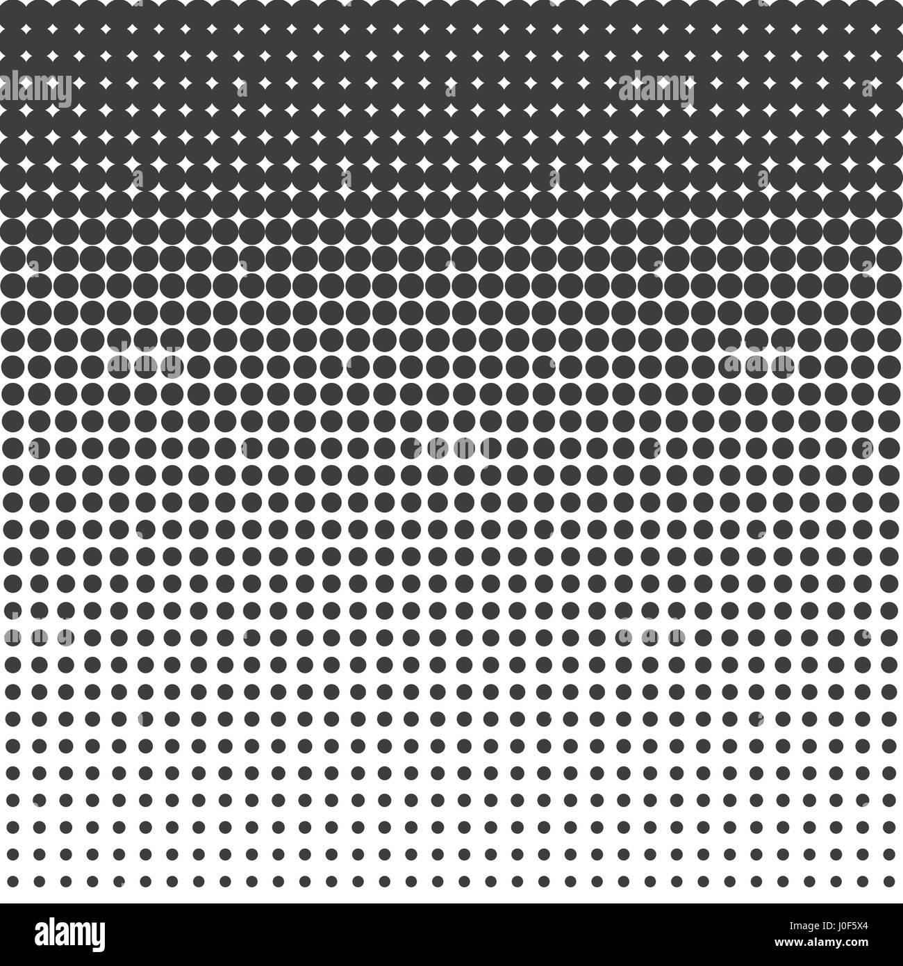 Halftone dots pattern - Stock Image