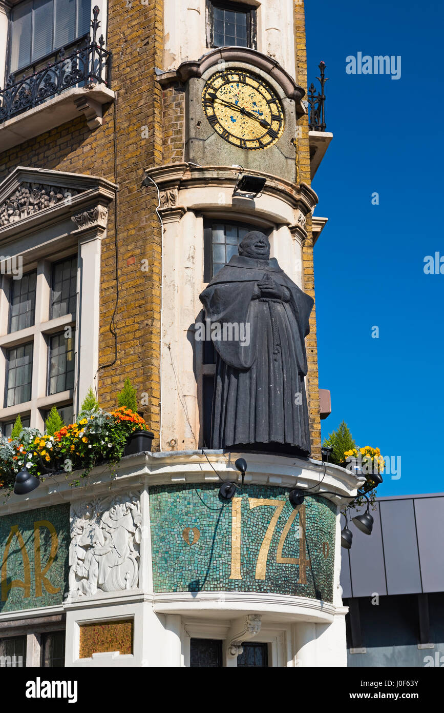 The Blackfriar Pub Blackfriars Queen Victoria Street City of London UK Stock Photo