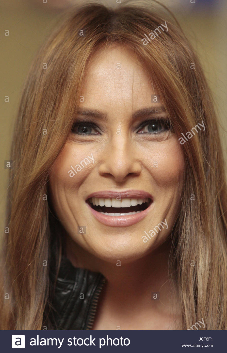 File photo dated 21/06/11 of Donald Trump's wife Melania who has accepted damages and an apology from Daily - Stock Image