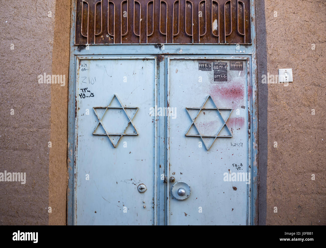 Jewish Star Door Stock Photos Jewish Star Door Stock Images Alamy