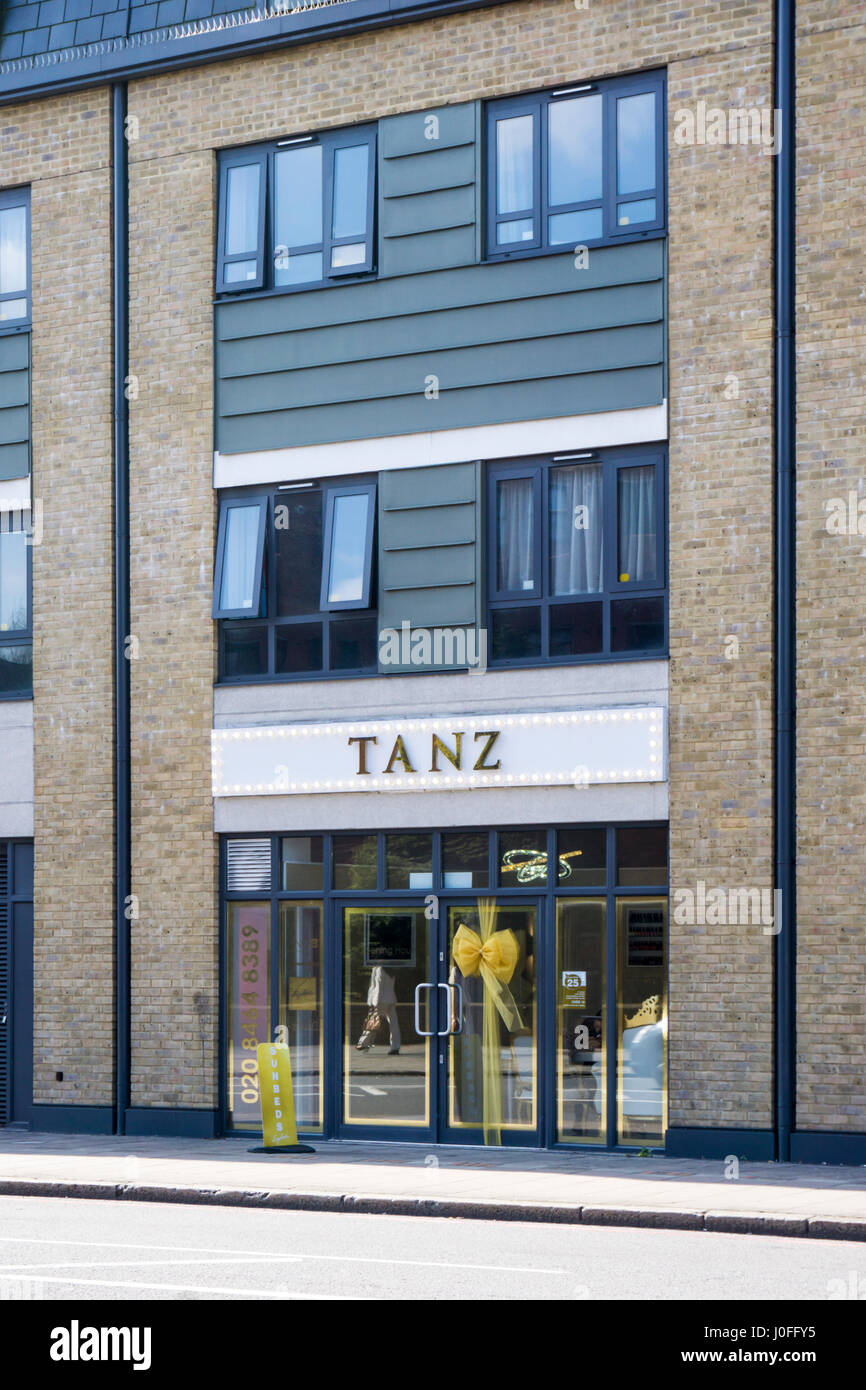 Tanz tanning salon in Bromley, South London. - Stock Image