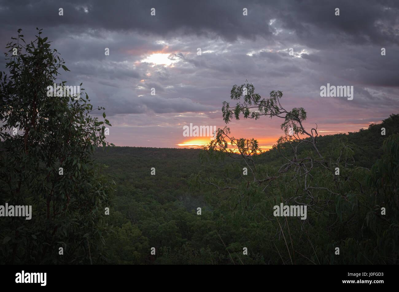 Kakadu National Park view Northern Territory Stock Photo