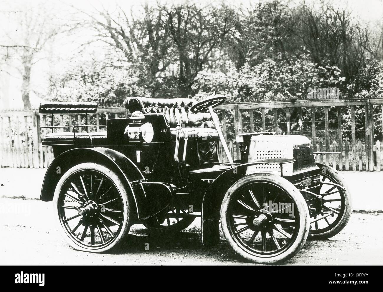 First Napier car, the 8 horse power 2 cylinder engine G20 model of ...