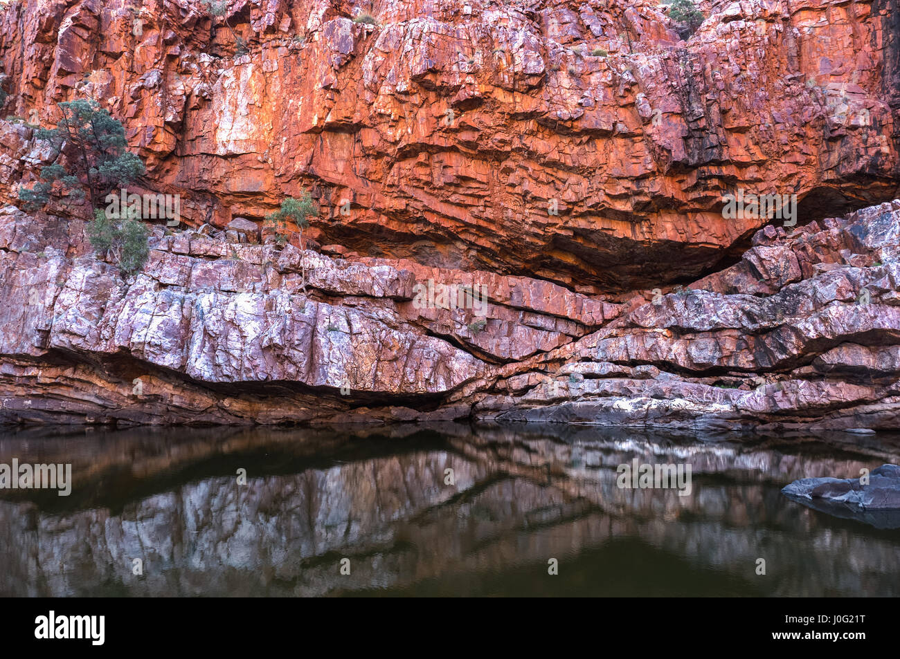 MacDonnell Ranges Ormiston Gorge Northern Territory - Stock Image
