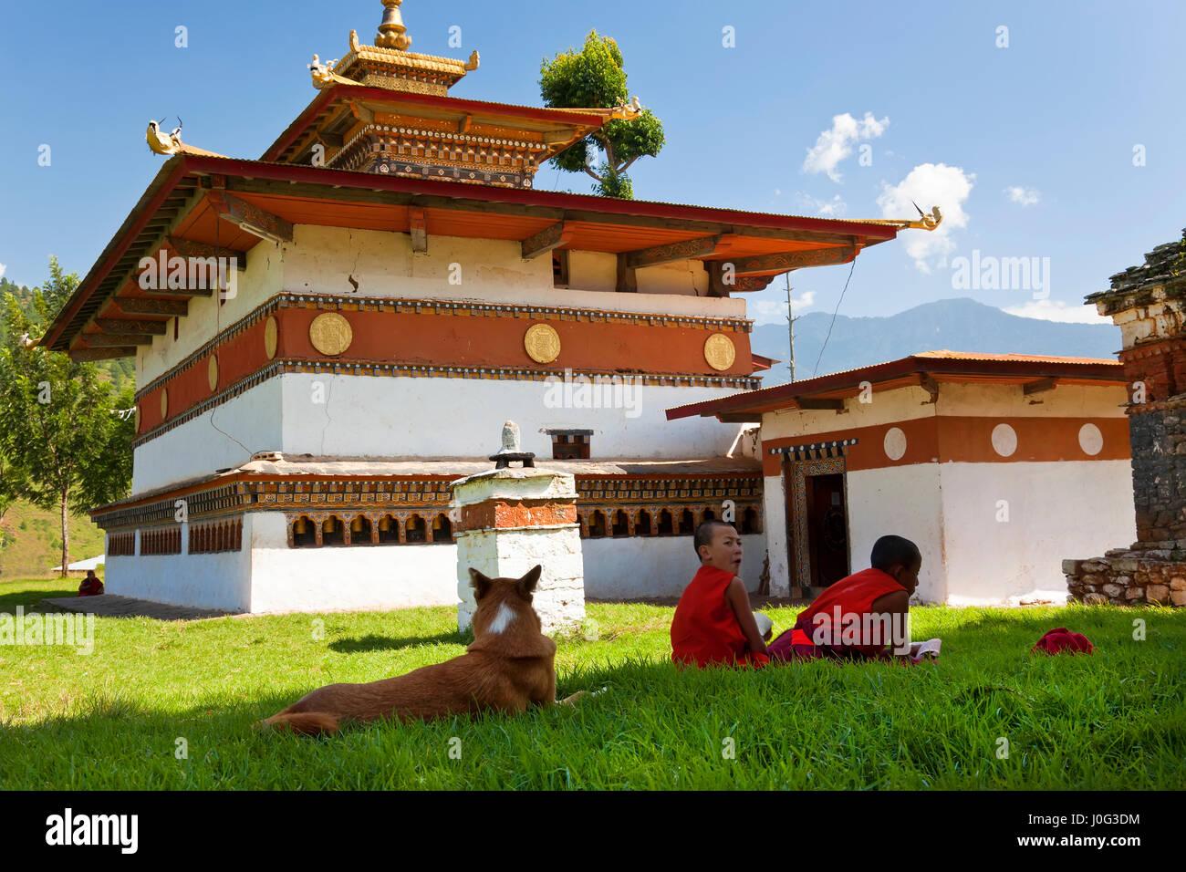 Chimi Lhakhang Monastery, Pana, Bhutan - Stock Image