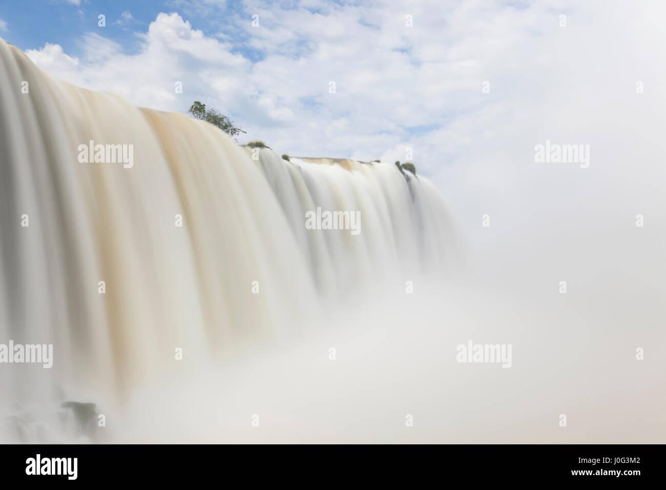 Iguacu (Iguazu) Falls, Cataratta Foz do Iguacu, Parana, Iguazu National Park, Brazil Stock Photo