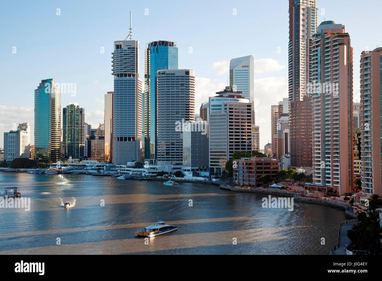 Brisbane skyline, Queensland, Australia - Stock Image