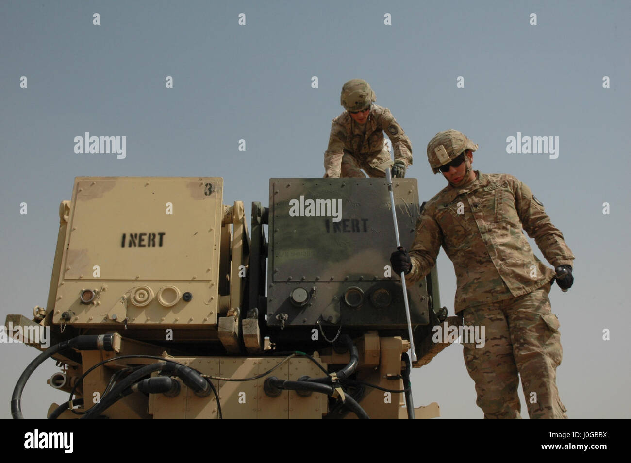 soldiers of battery d 4th bn 5th air defense artillery regiment