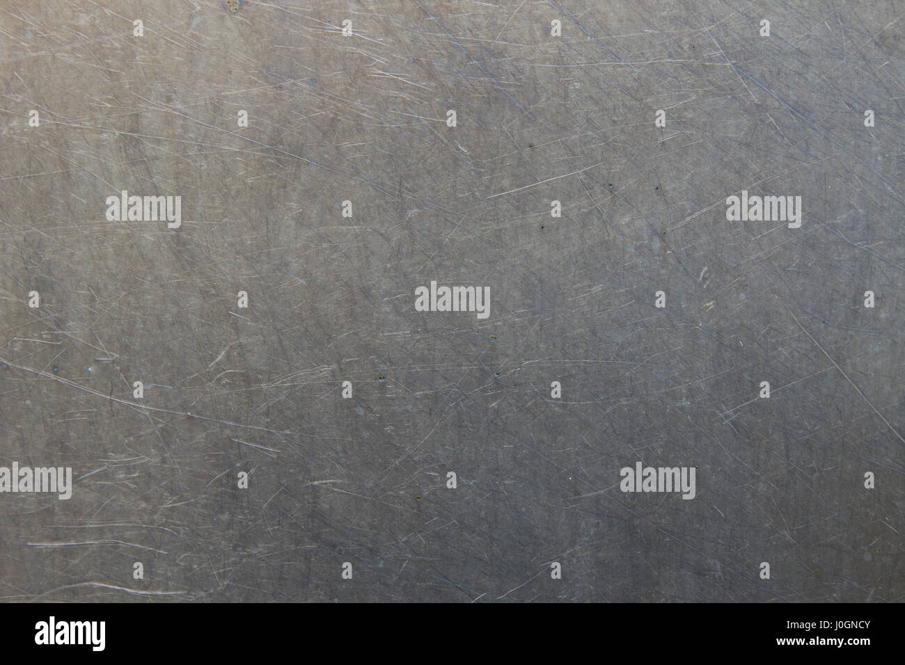 Scratched metal background - Stock Image