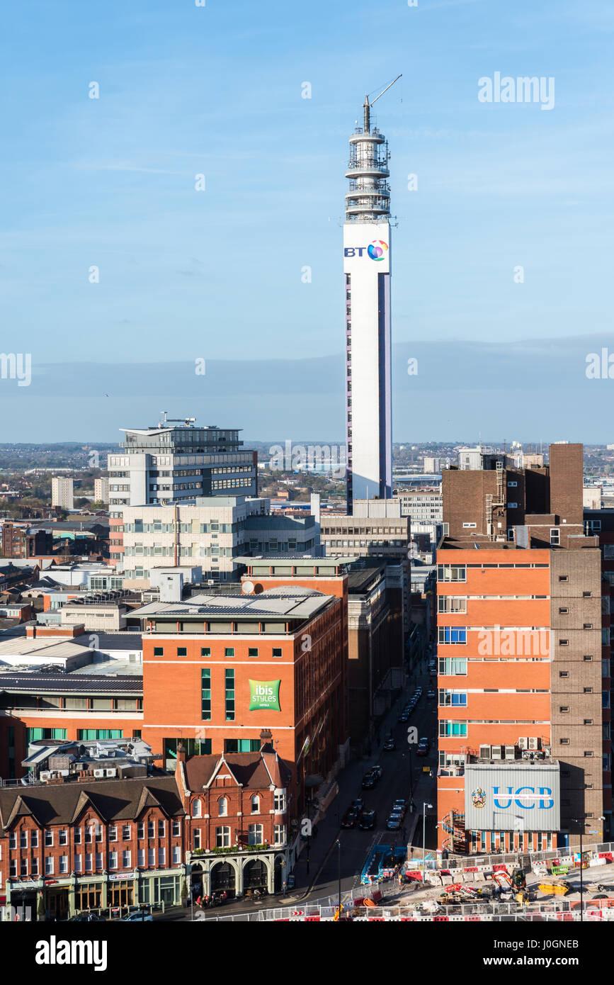Birmingham Skyline Birmingham West Midlands England UK GB EU Europe - Stock Image