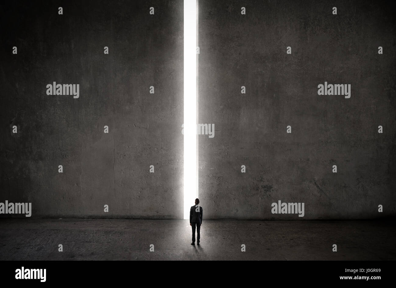 Man standing in front of huge gate stock photo 138052385 alamy man standing in front of huge gate izmirmasajfo