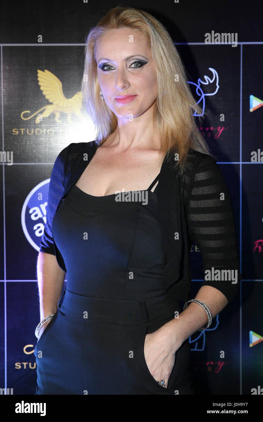 Mumbai, India  13th April, 2017  Ilana Segev poses for
