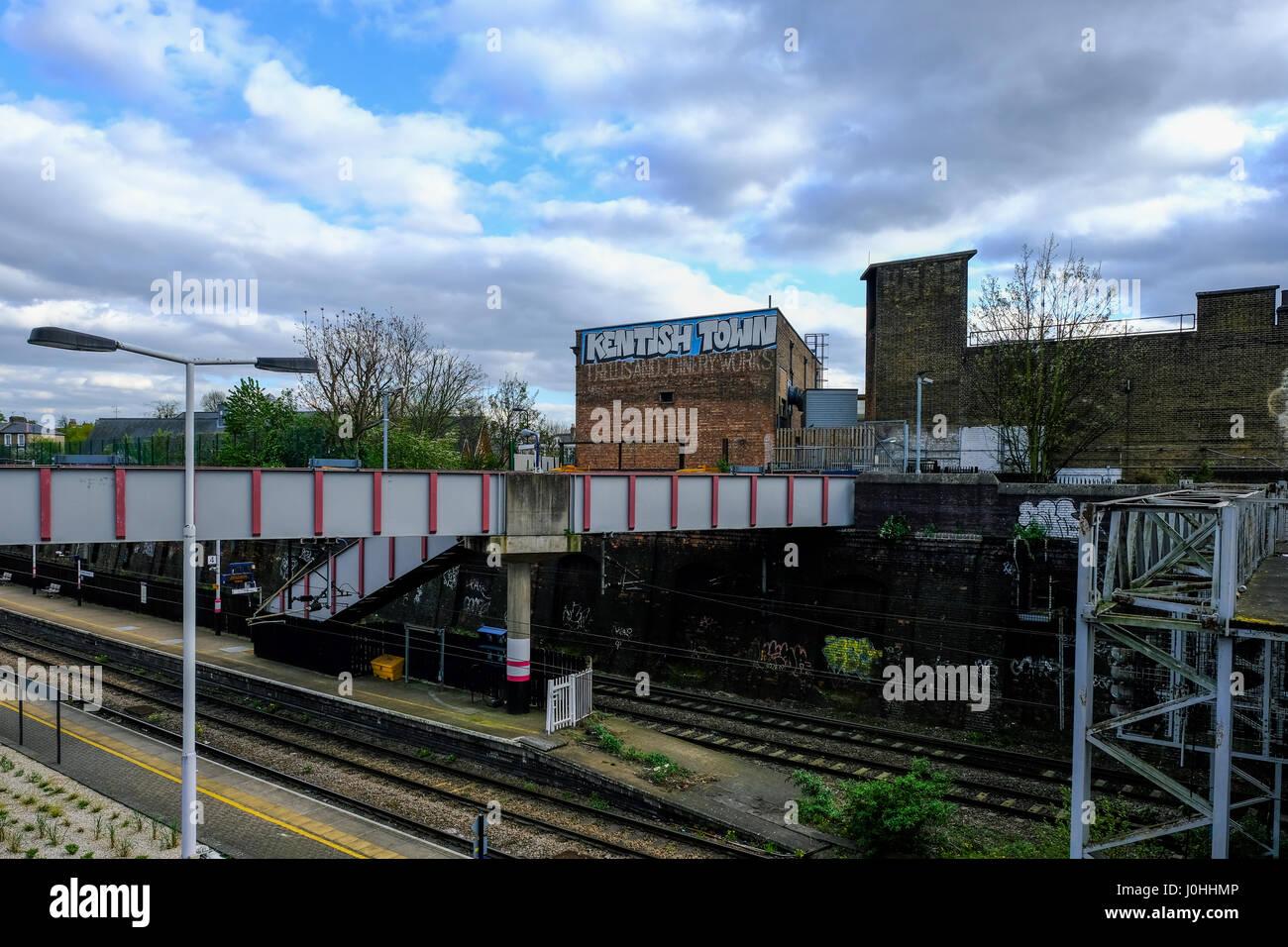 Kentish Town station - Stock Image