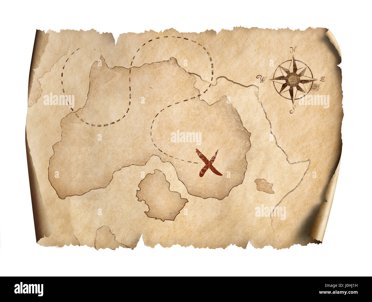 pirate scroll template - old pirates treasure map scroll stock photos old pirates