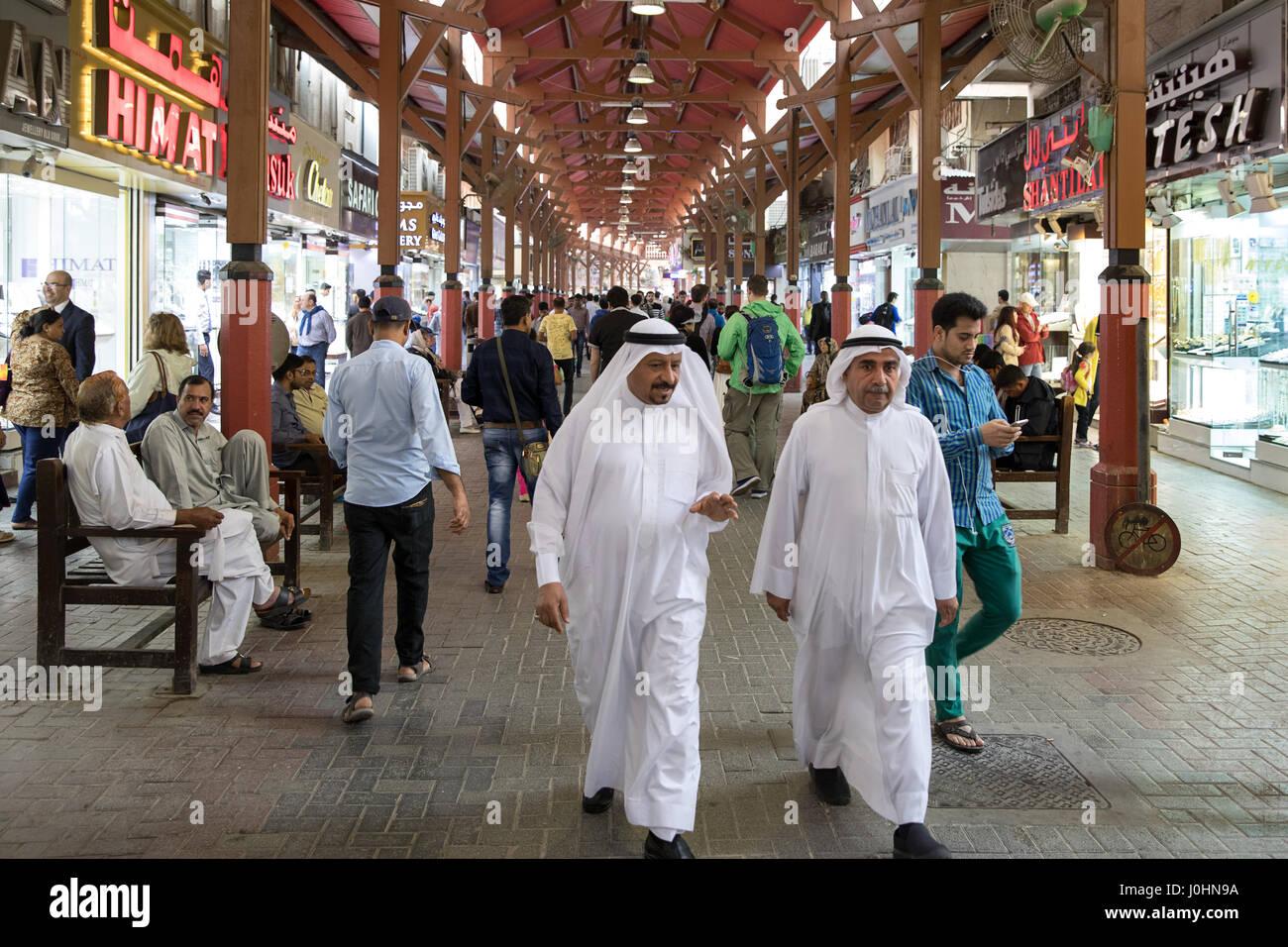 The Deira Gold Souk, Dubai - Stock Image