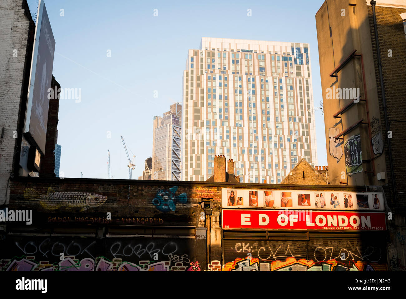 Ed of London, shop in East London Stock Photo