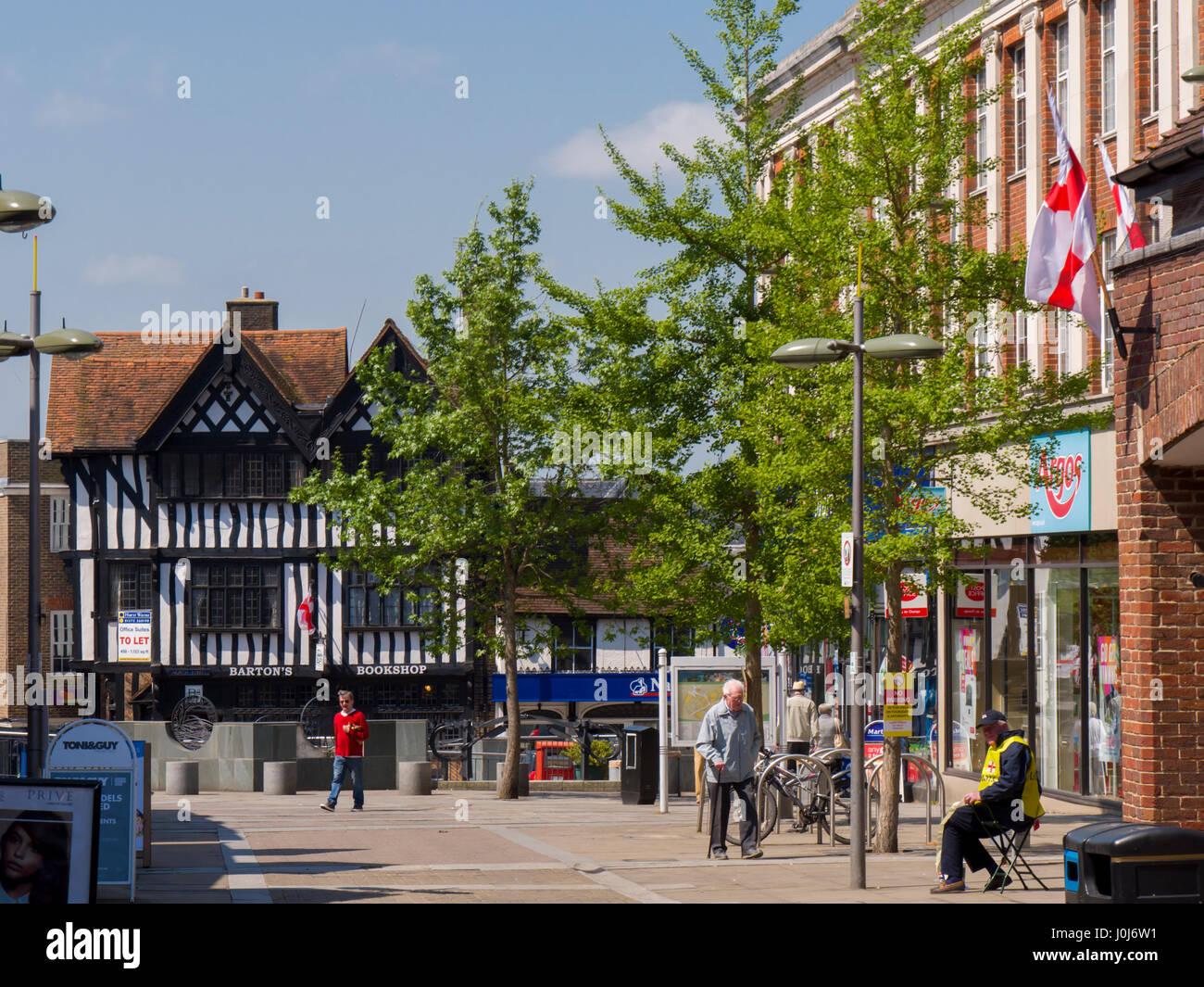 W Finch Leatherhead europe, UK, England, S...