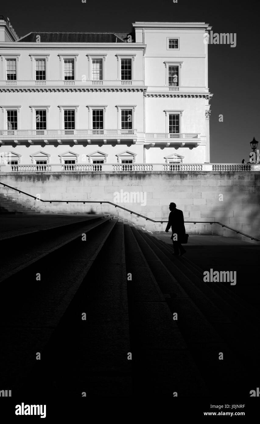 Duke of York Steps, St James's, London, UK - Stock Image