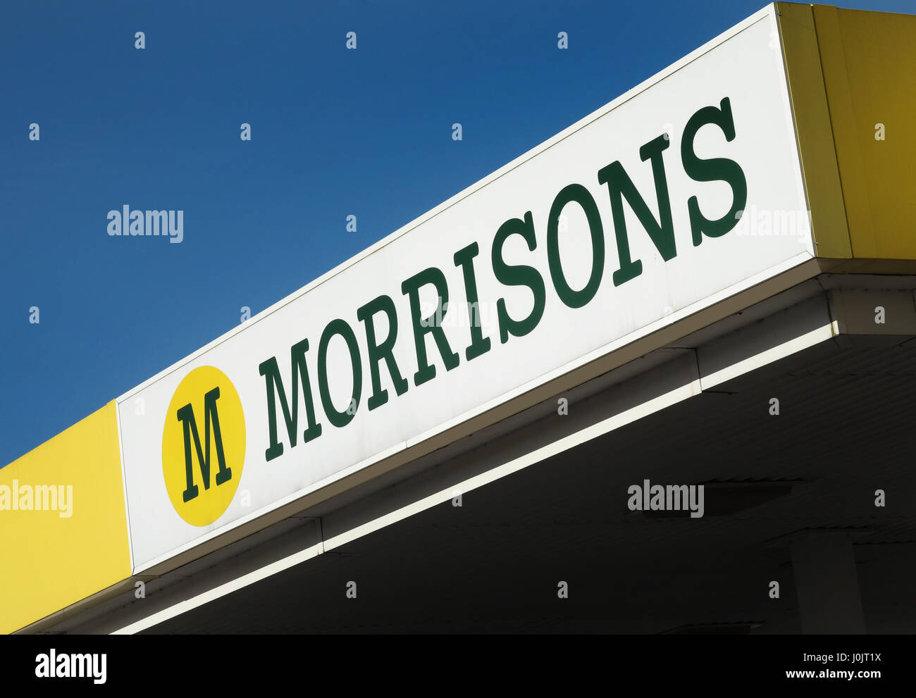 Morrisons sign - Stock Image