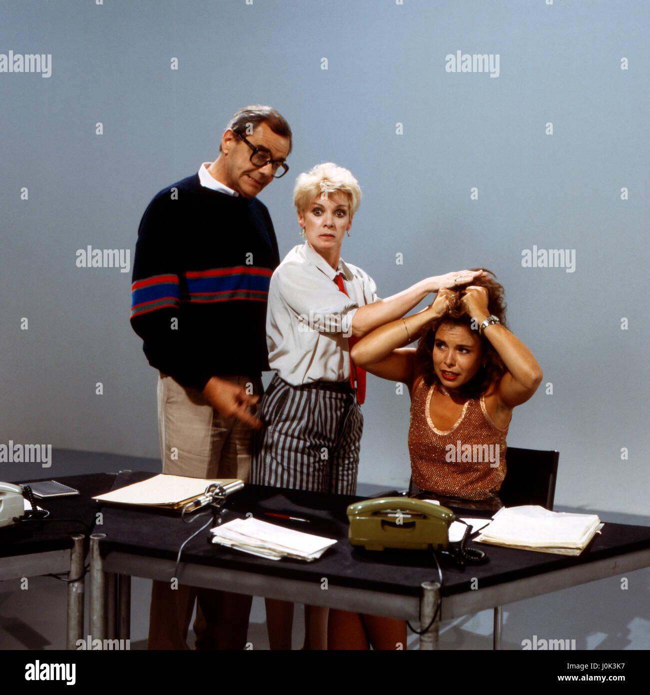 Locker vom Hocker, Fernsehserie, Deutschland 1985, Darsteller ...