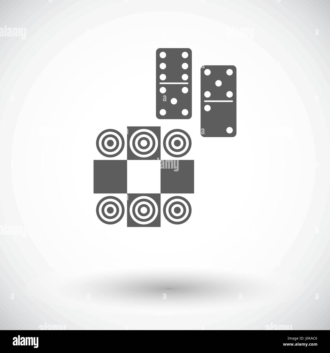 Table games - Stock Vector