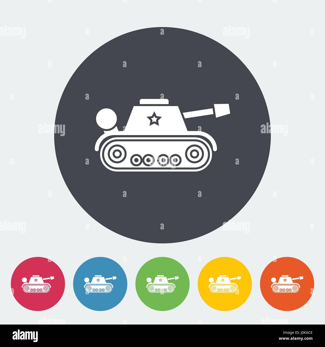 Tank toy - Stock Vector
