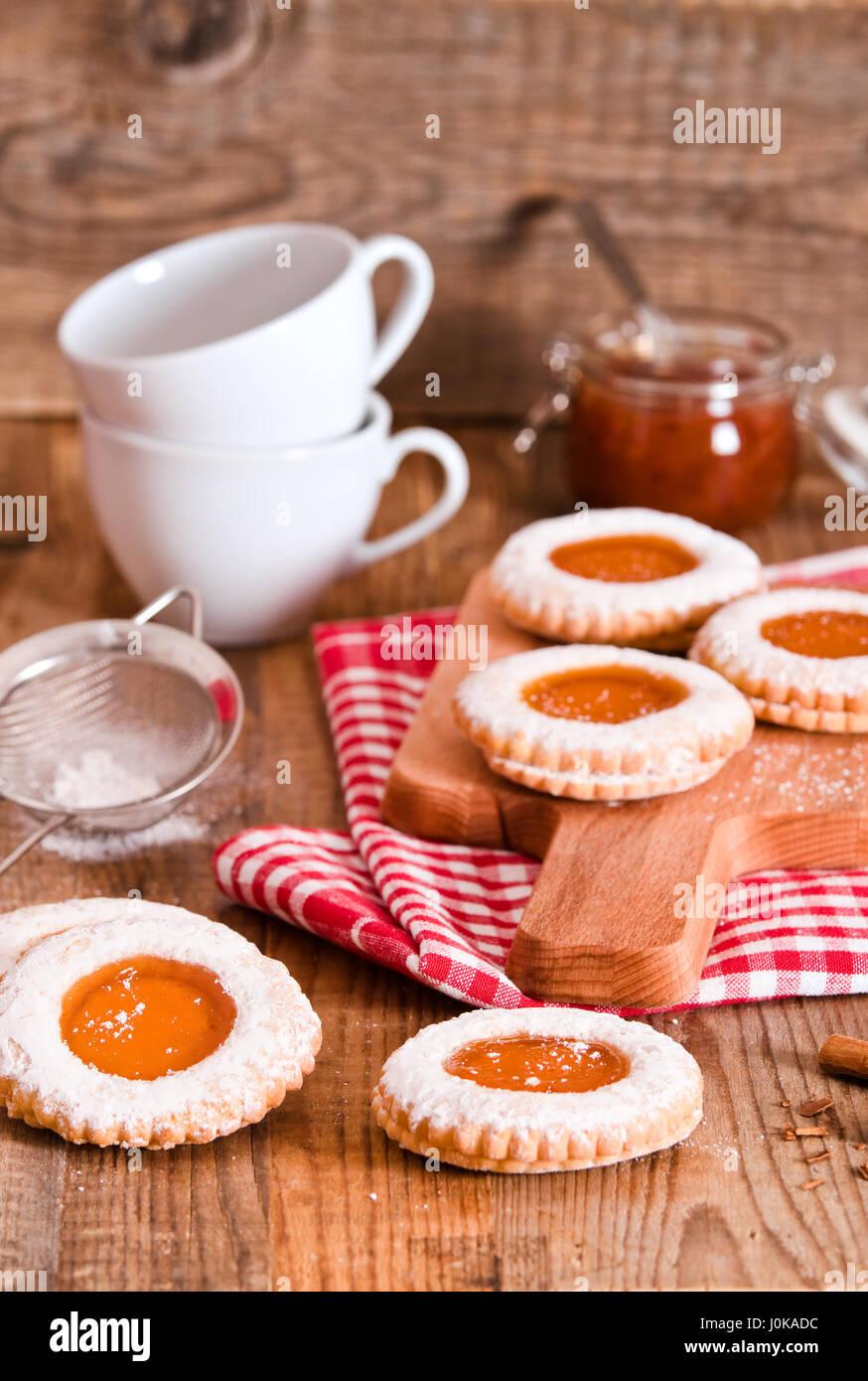 Breakfast cookies. - Stock Image