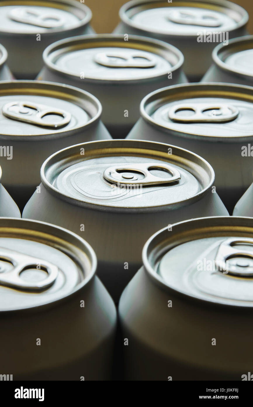 Mass production - In a society where  everything  is equal - Stock Image