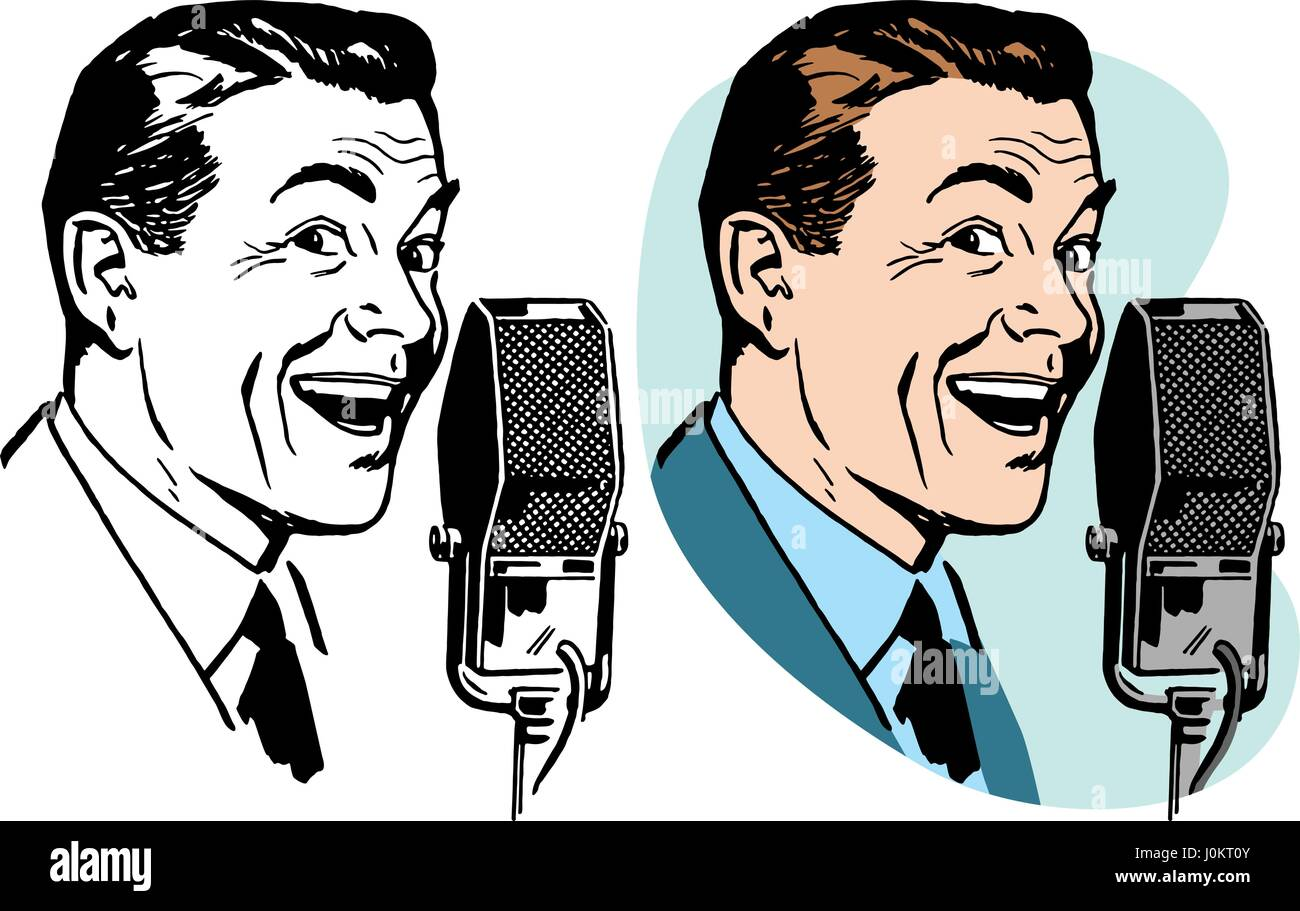 Man Speaking Cartoon High Resolution Stock Photography And Images Alamy