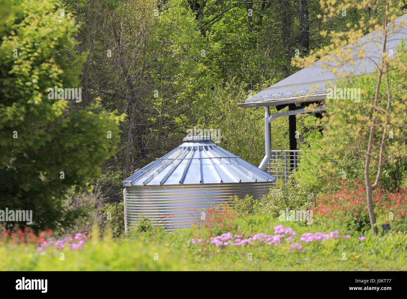 Water Catchment System North Carolina Botanical Garden Chapel Hill