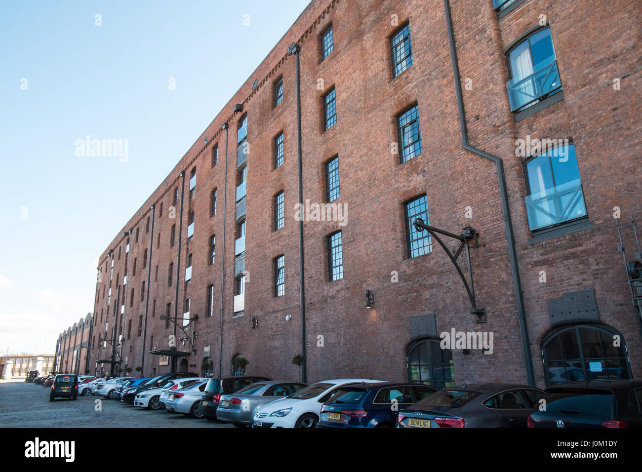 Titanic Hotel,Stanley Dock,Liverpool,Merseyside,England,UNESCO,World Heritage City,City,Northern,North,England,English,UK. Stock Photo