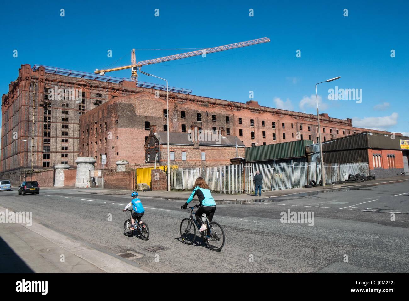 Liverpool,Merseyside,England,UNESCO,World Heritage City,City,Northern,North,England,English,UK. Stock Photo