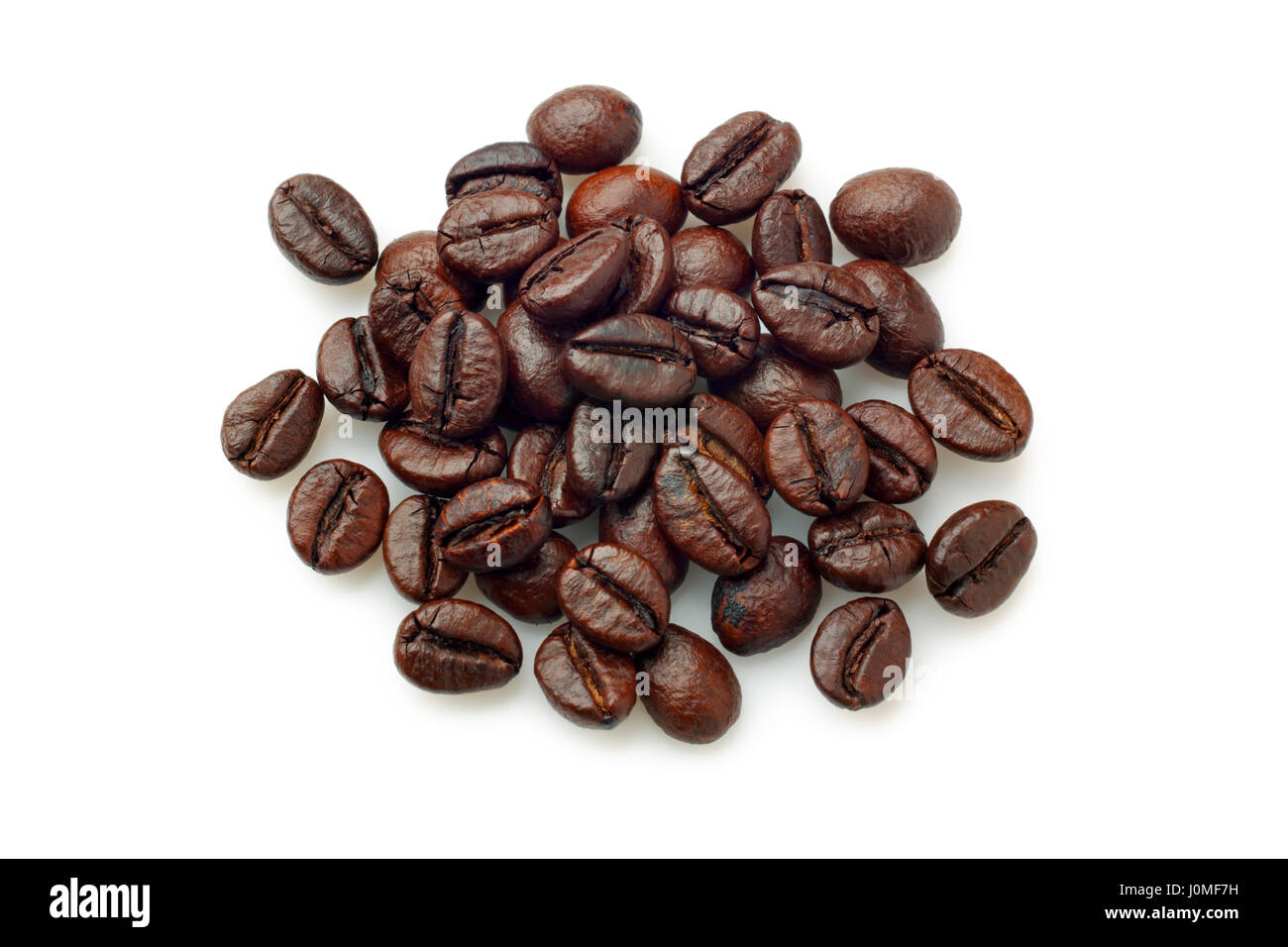 Robusta Cut Out Stock Images Pictures Alamy Green Coffee Bean Kopi Diet Java Pile Of Beans Over White Background Overhead View