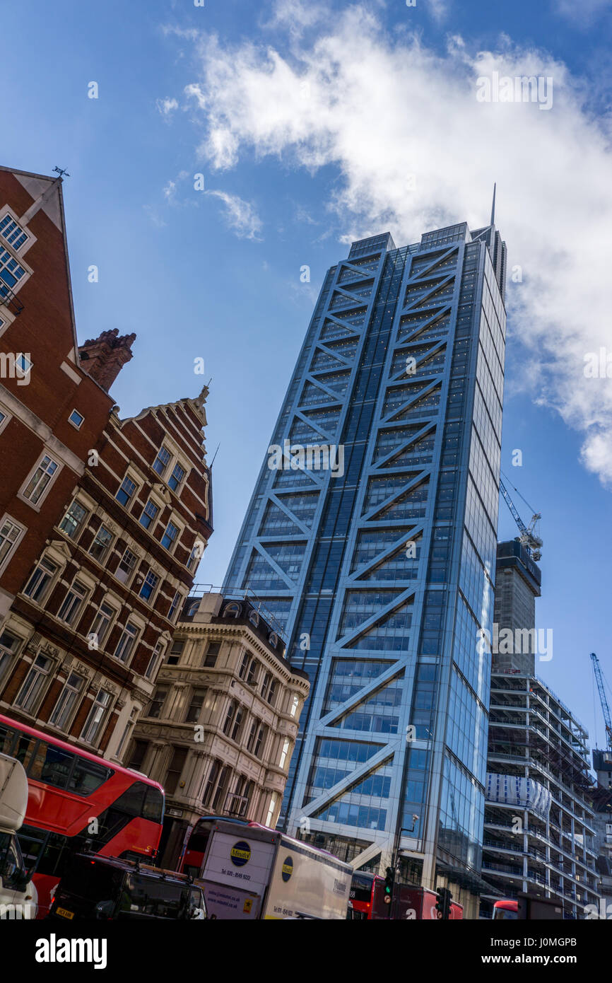 London architecture at Liverpool Street - Stock Image
