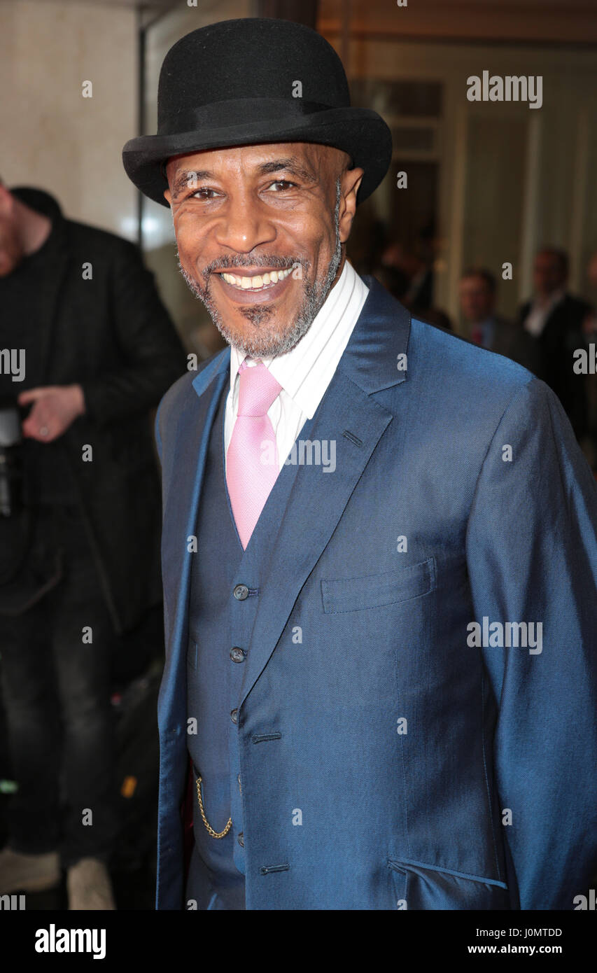 Red Carpet arrivals for the TRIC Awards 2017  Featuring: Danny John-Jules Where: London, United Kingdom When: 14 - Stock Image