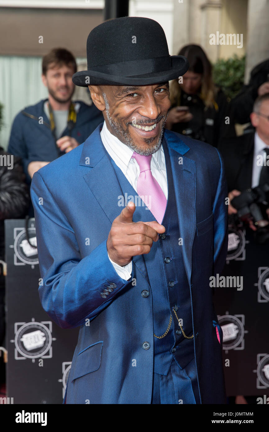 The The TRIC Awards held at the Grosvenor House Hotel - Arrivals  Featuring: Danny John-Jules Where: London, United - Stock Image