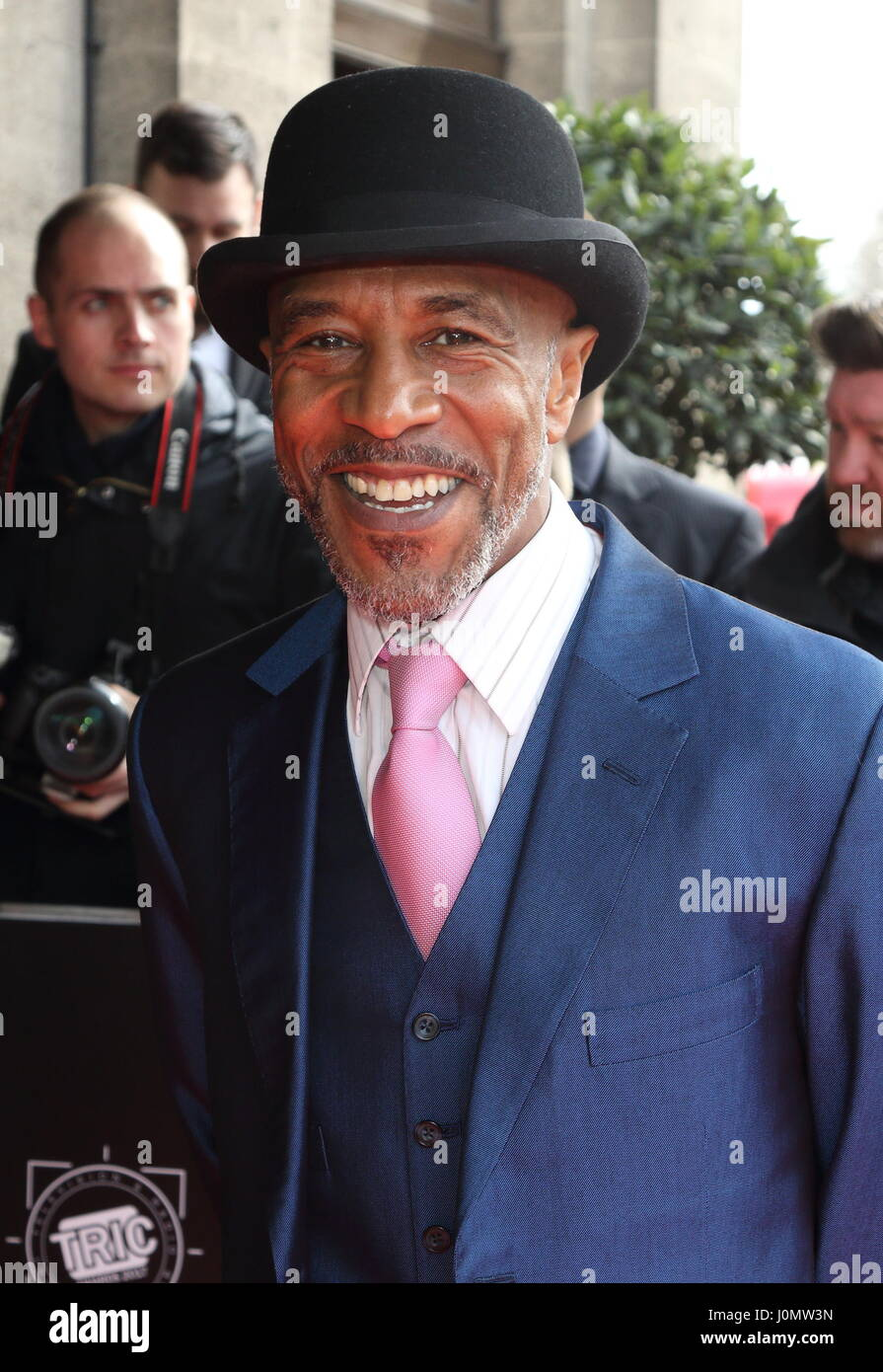 The TRIC Awards 2017 at the Grosvenor House Hotel, Park Lane, Londonn  Featuring: Danny John-Jules Where: London, - Stock Image