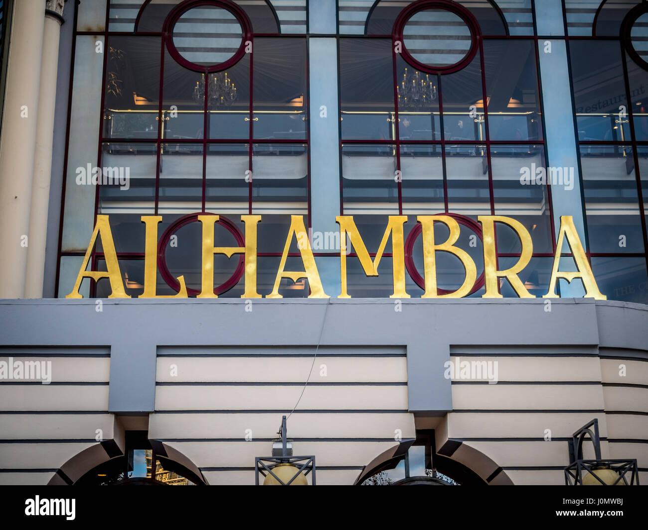 The Alhambra theatre, Bradford, West Yorkshire, UK. - Stock Image