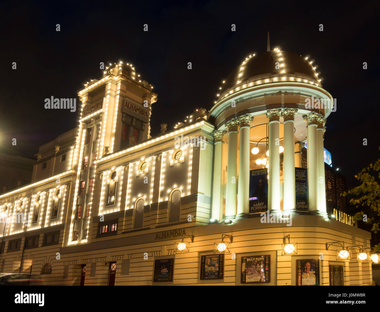 The Alhambra theatre, Bradford, West Yorkshire, UK. - Stock Image