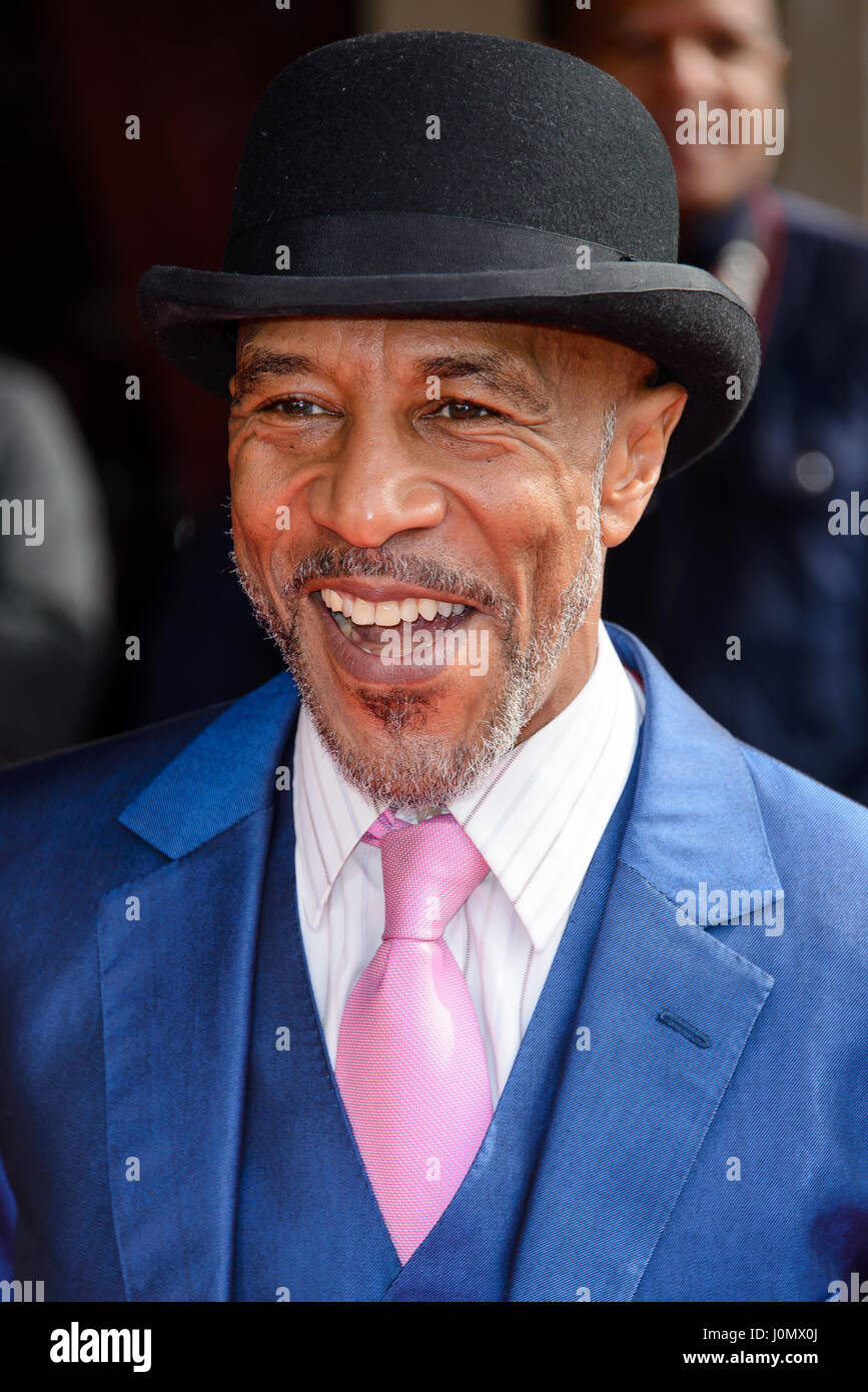 TRIC Awards 2017 - Arrivals  Featuring: Danny John-Jules Where: London, United Kingdom When: 14 Mar 2017 - Stock Image