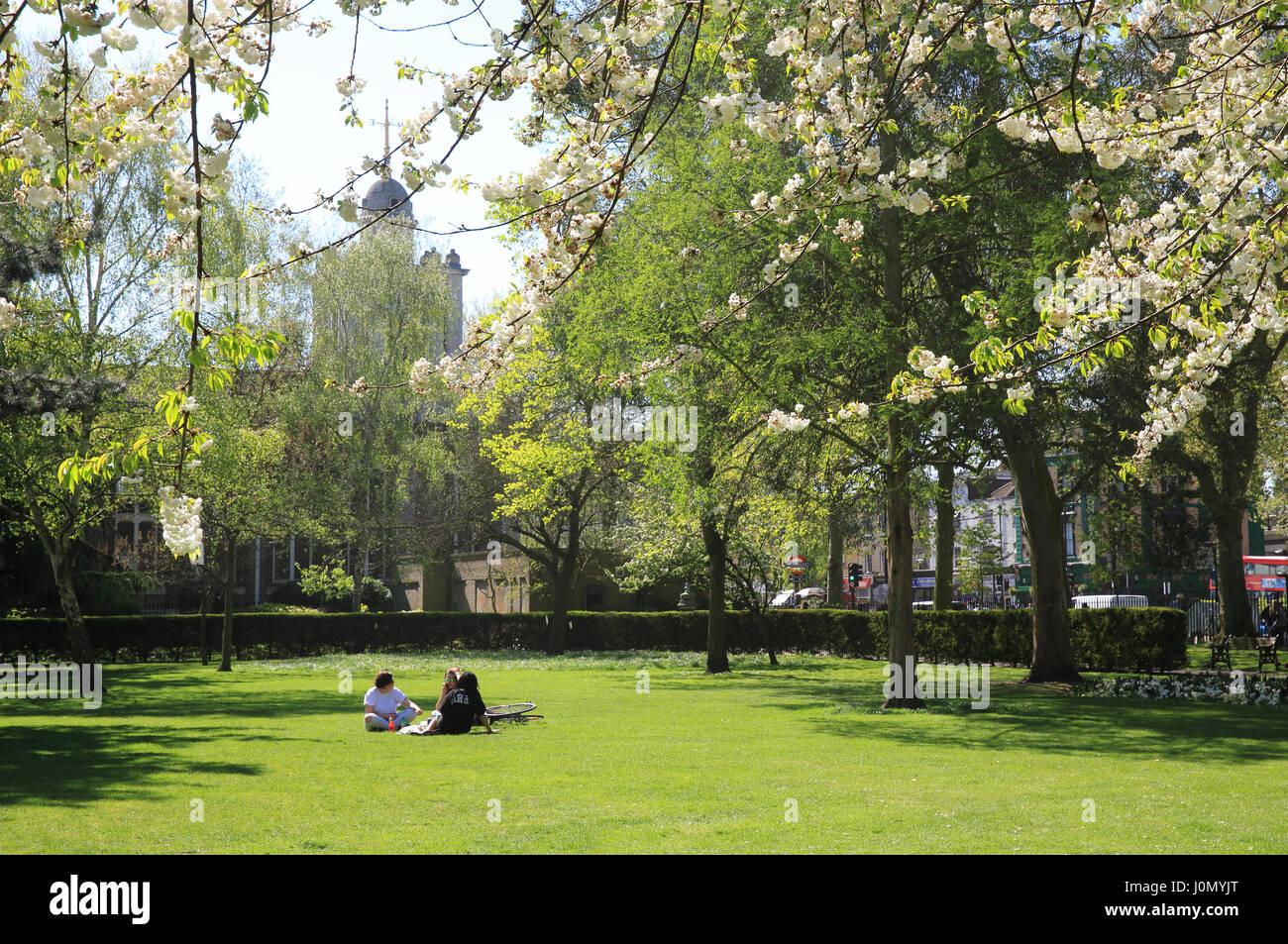 Museum Gardens, Bethnal Green, Tower Hamlets, London - Stock Image
