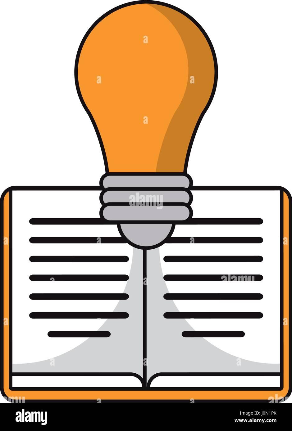 book idea discovery icon - Stock Vector