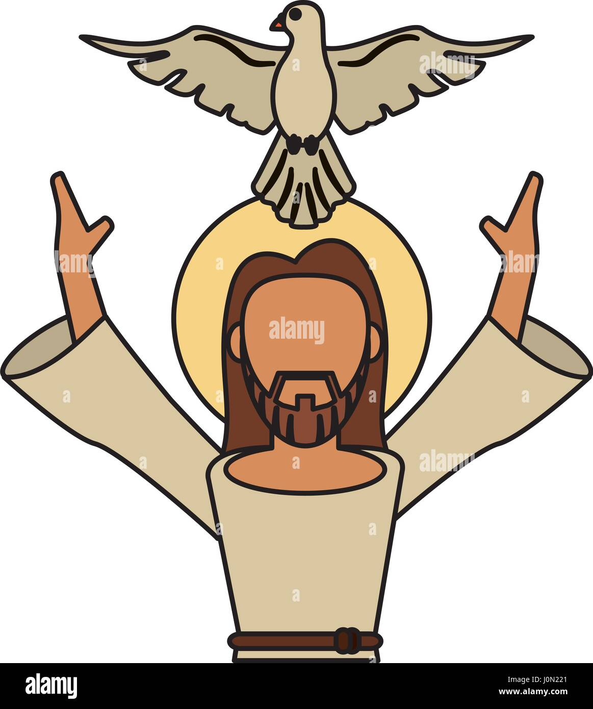 In the Name of the Father, and of the Son, and of the Holy Spirit #Clipart  | Holy spirit, Prayers, Peace symbol