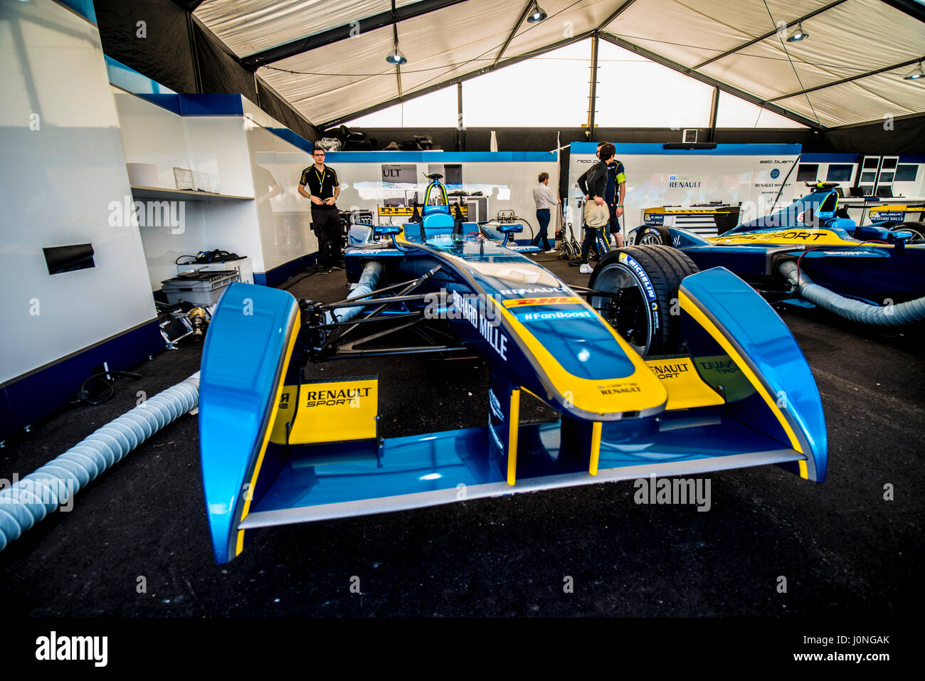 E Formula Racing In Miami - Stock Image